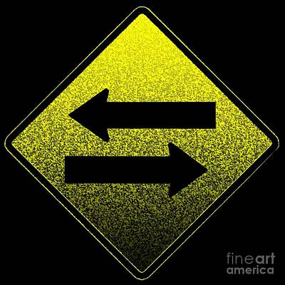 Digital Art - Two Way Street by Dale   Ford