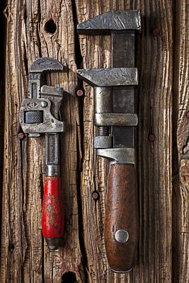 Two Wrenches Art Print by Garry Gay