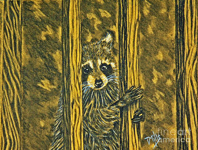 Drawing - Ty-coon by Terri Mills