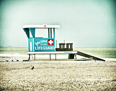 Photograph - Tybee Island Lifeguard Station No. 2 by Tammy Wetzel