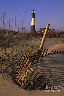 Tybee Island Lighthouse - Fs000812 Art Print