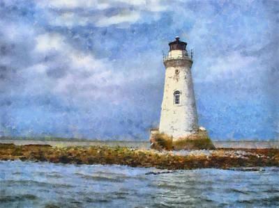 Tybee Island Lighthouse Art Print by Lynne Jenkins