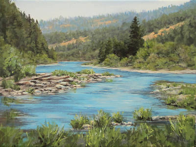 Painting - Tyee Morning by Karen Ilari