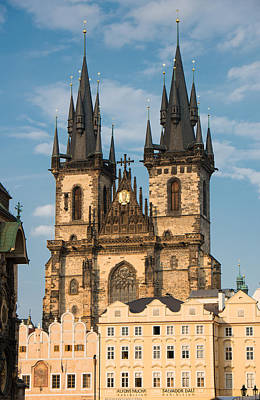 Tyn Church - Old Town Of Prague - Czech Republic Art Print by Matthias Hauser