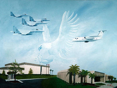 Tyndall Afb Later Years Art Print
