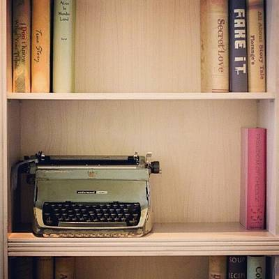 Typewriter Wall Art - Photograph - Typewriter by Andhika Satya