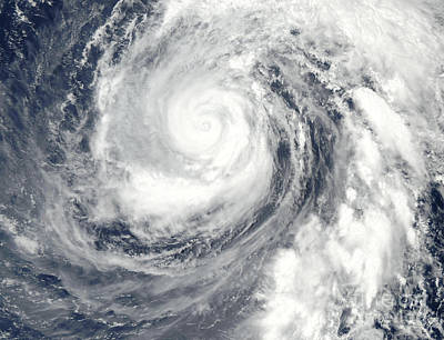 Photograph - Typhoon Phanfone by Stocktrek Images