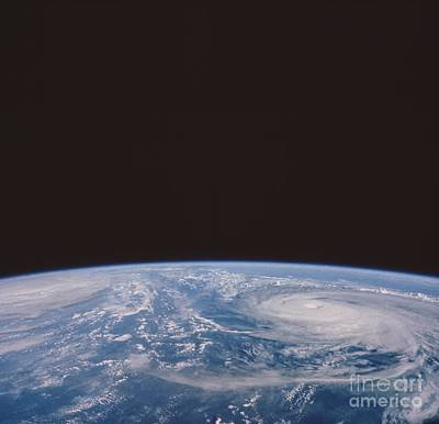 Typhoons Odessa And Pat, Seen Art Print by NASA / Science Source
