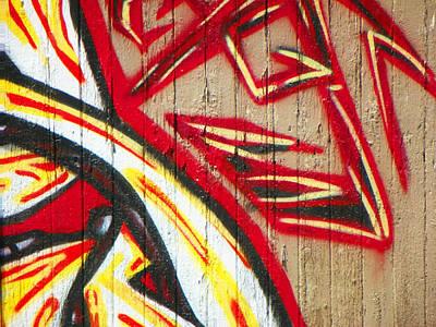 Typical Urban Fence 2 Art Print