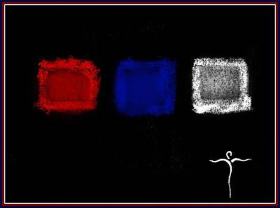 Digital Art - U S A by James Lanigan Thompson MFA