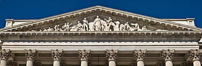 National Historic Landmark District Photograph - U. S. Capitol Frieze Over East Facade by Richard Nowitz