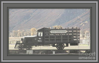 U. S. Mail N Rail Art Print