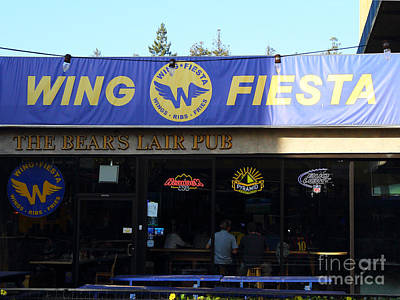 Uc Berkeley . Bears Lair Pub . 7d9980 Art Print by Wingsdomain Art and Photography