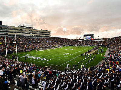 Uconn Rentschler Field Art Print by University of Connecticut