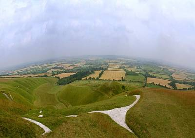 Photograph - Uffington View by Ed Lukas