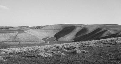 Photograph - Uffington White Horse by Michael Standen Smith