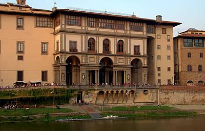 Photograph - Uffizi Gallery by Caroline Stella
