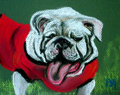 UGA Art Print by Pete Maier