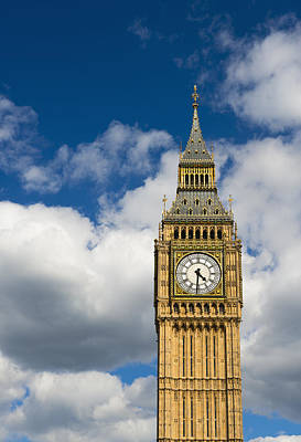 Y120907 Photograph - Uk, England, London, Big Ben by Tetra Images