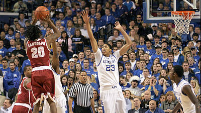 Rupp Arena Photograph - Uk V Alabama - 20 by Mark Boxley