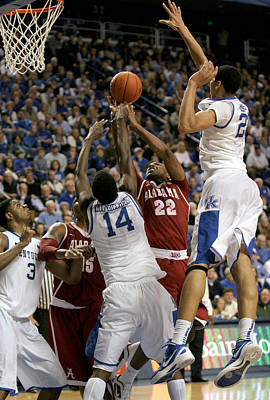 Rupp Arena Photograph - Uk V Alabama - 3 by Mark Boxley