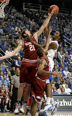 Rupp Arena Photograph - Uk V Arkansas - 11 by Mark Boxley