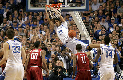Rupp Arena Photograph - Uk V Arkansas - 4 by Mark Boxley