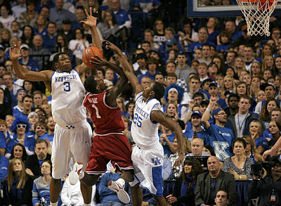 Rupp Arena Photograph - Uk Vs Arkansas - 13 by Mark Boxley