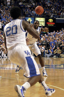 Rupp Arena Photograph - Uk Vs. Unc - 13 by Mark Boxley