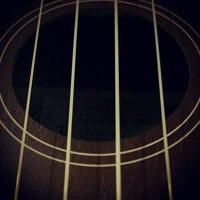 Instrument Photograph - Ukulele by Vince Costello
