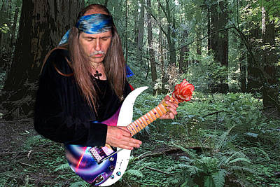 Photograph - Uli Jon Roth At Muir Woods by Ben Upham III