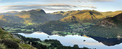 Ullswater From Place Fell Art Print by Stewart Smith
