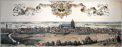 Ulm Photograph - Ulm, Germany, 1593 by Granger
