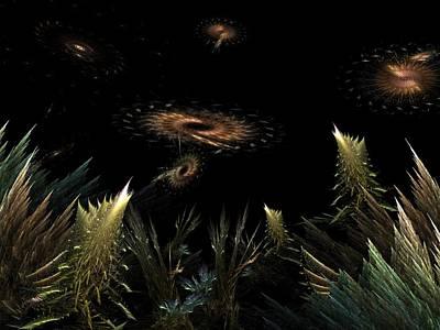 Digital Art - Ulternate Universe by Ricky Kendall