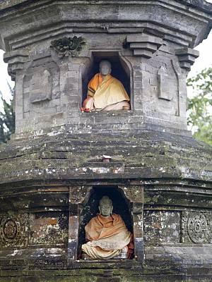 Ulun Danu Temple Statues Art Print by Design Pics