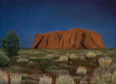 Painting - Uluru by Joe Michelli