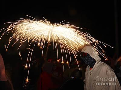 Photograph - Umbrella Of Sparks by Agusti Pardo Rossello