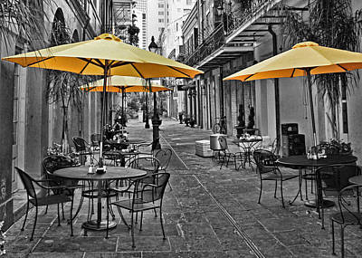 Photograph - Umbrellas by Judy Vincent