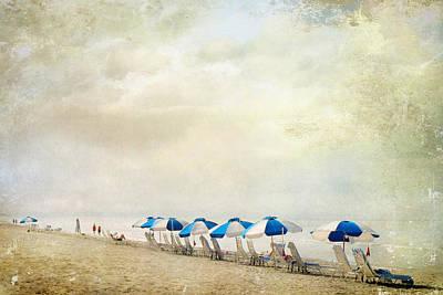 Art Print featuring the photograph Umbrellas by Karen Lynch