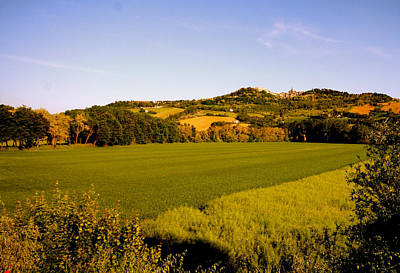 Photograph - Umbria Italy Landscape by Femina Photo Art By Maggie