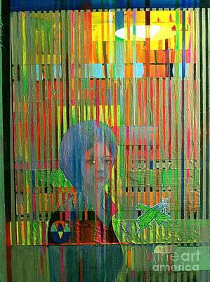 Mental Painting - Umteenth Window by E Dan Barker