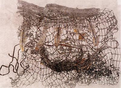 Un Becoming Basket Art Print by Charles B Mitchell