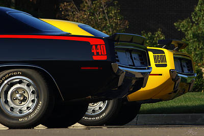 Stock Muscle Photograph - Unbeatable Dynamic Duo by Gordon Dean II