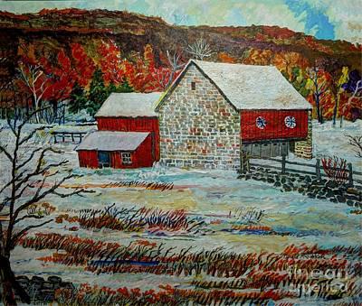 Uncle Otto's Barn Original by Donald McGibbon