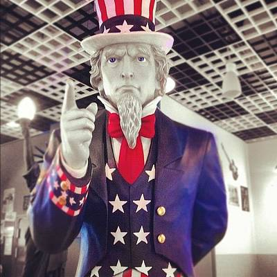 Icon Wall Art - Photograph - Uncle Sam by Marce HH