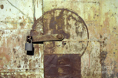 Photograph - Under Lock And Key Real De Catorce Mexico by John  Mitchell