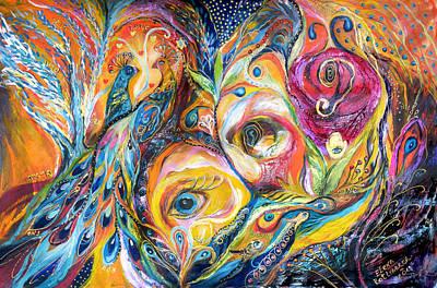 Under Olive Tree Art Print by Elena Kotliarker