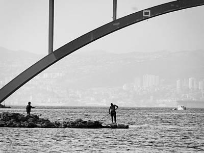 Photograph - Under The Bridge 2 by Ana Leko Nikolic
