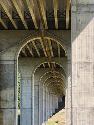 Photograph - Under The Bridge by Ann Bridges
