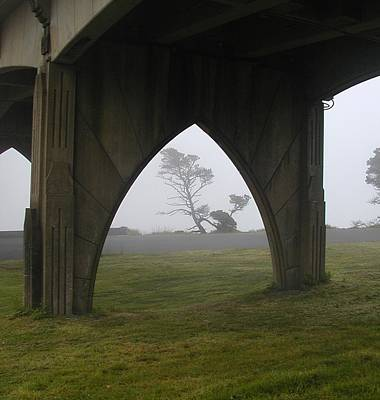Photograph - Under The Bridge by HW Kateley